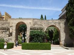 Алькасар - городская крепость. Севилья. Испания