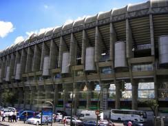 Стадион Сантьяго Бернабеу. Мадрид. Испания.