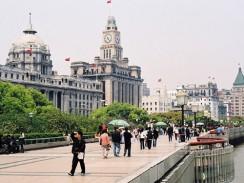 Набережная Вайтань. Шанхай. Китай.