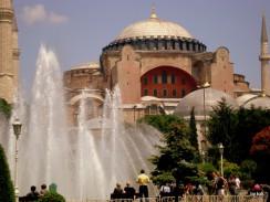 Собор Святой Софии. Стамбул. Турция.