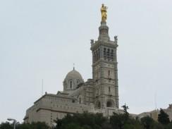 Базилика Нотр-Дам де ла Гард. Марсель. Франция.