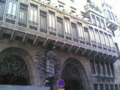 Дворец Гуэля. Барселона. Испания.