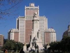Площадь Испании. Мадрид.