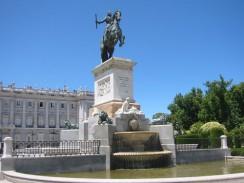 Восточная площадь. Мадрид. Испания.