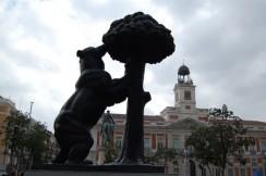 Площадь Пуэрта-дель-Соль. Мадрид. Испания.