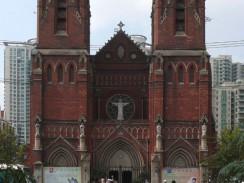 Китай. Шанхай. Сюйцзяхуэй — собор святого Игнатия Лойолы.
