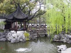 Китай. Шанхай. Сад Юй Юань.