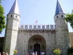 Турция. Стамбул. Дворец Топкапы. Врата приветствия.