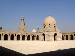Внутренний двор Мечети Ибн Тулуна. Каир. Египет