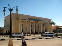Египет. Луксор. Железнодорожный вокзал
