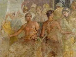 Настенная фреска. Национальный археологический музей Неаполя. Италия