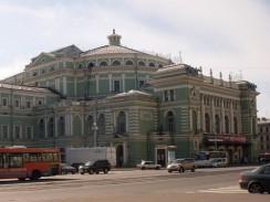 Мариинский театр. Санкт-Петербург. Россия