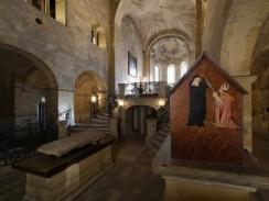 Интерьер Базилики Святого Георгия. Прага. Чехия