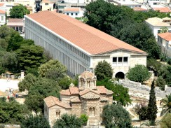 Стоа Аталосса. Афины. Греция