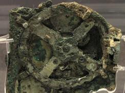 Антикитерский механизм. Национальный археологический музей. Афины. Греция