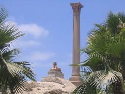 Египет. Александрия. Колонна Помпея.