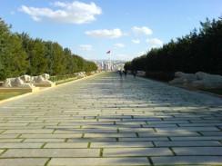 Турция. Анкара. Парк у мавзолея Мустафы Кемаль Ататюрка.