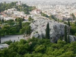 Ареопаг или «холм Ареса». Афины. Греция.