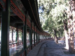 Китай. Пекин. Летний императорский дворец. «Длинный коридор».