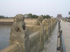 Лугоуцяо или мост Марко Поло. Пекин. Китай.