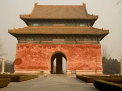 Гробницы императоров династии Мин. Пекин. Китай.