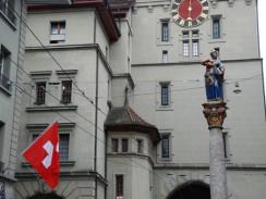 Фонтан «Анна Зайлер». Берн. Швейцария.