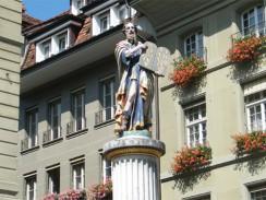Швейцария. Берн. Фонтан «Моисей»