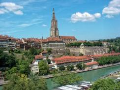 Швейцария. Берн. Бернский кафедральный собор.