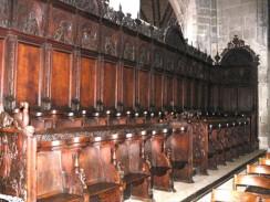 Швейцария. Хоры в Бернском кафедральном соборе.