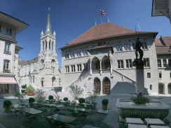 Швейцария. Бернская ратуша.