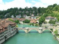 Untertorbrücke — самый старый мост в Берне. Швейцария.
