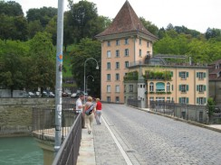 Швейцария. Берн. Мост Untertorbrücke.
