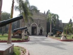 Вход в музей дворца Абдин. Каир. Египет.