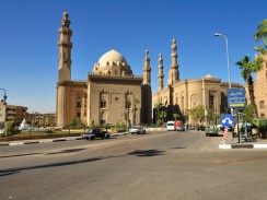 Египет. Каир. Мечеть Султана Хассана.