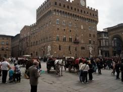 Италия. Флоренция. Палаццо Веккьо.