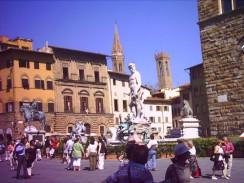 Италия. Флоренция. Площадь Синьории.