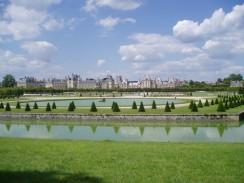 Франция. Париж. Парк дворца Фонтенбло.