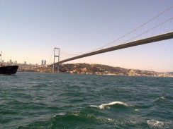 Турция. Стамбул. Босфорский мост.