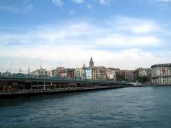 Галатский мост. Стамбул. Турция.