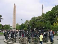 Площадь Султанахмет. Стамбул. Турция.