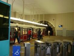 Тюнель — старинная карликовая линия метро. Стамбул. Турция.
