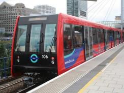 Доклендское лёгкое метро. Лондон. Англия.