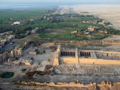 Погребальный храм Рамсеса III. Луксор. Египет.