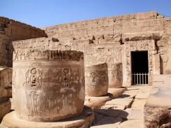 Египет. Луксор. Погребальный храм Рамсеса III.