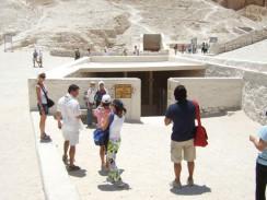 Гробница Тутанхамона в Долине Царей. Луксор. Египет.