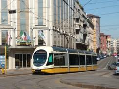 Италия. Милан. Трамвай.