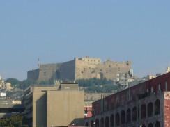Крепость Сант-Эльмо. Неаполь. Италия.