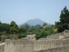 Вулкан Везувий. Неаполь. Италия.