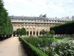Франция. Париж. Дворец Пале-Рояль.
