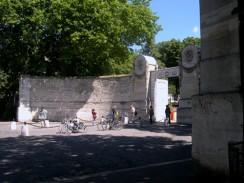 Кладбище Пер-Лашез. Париж. Франция.